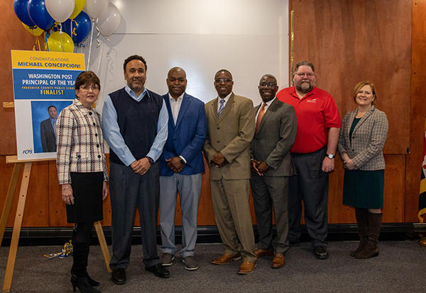 Concepcion FCPS Finalist for Principal of the Year