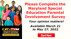 Special Ed Survey Ends May 21, 2021