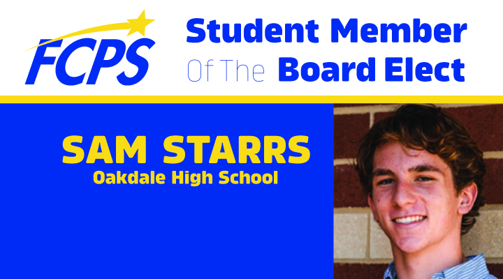 Student Member of the Board Elect Sam Starrs
