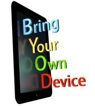Bring your own device logo