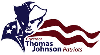 Gov. Thomas Johnson High Patriots logo