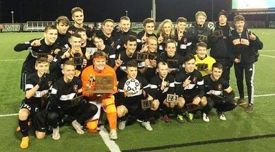 Middletown boys soccer won the Class 2A state championship