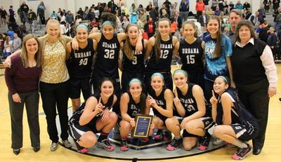 Urbana High girls basketball won CMC championship