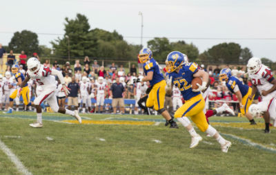 Walkersville High football action against TJ