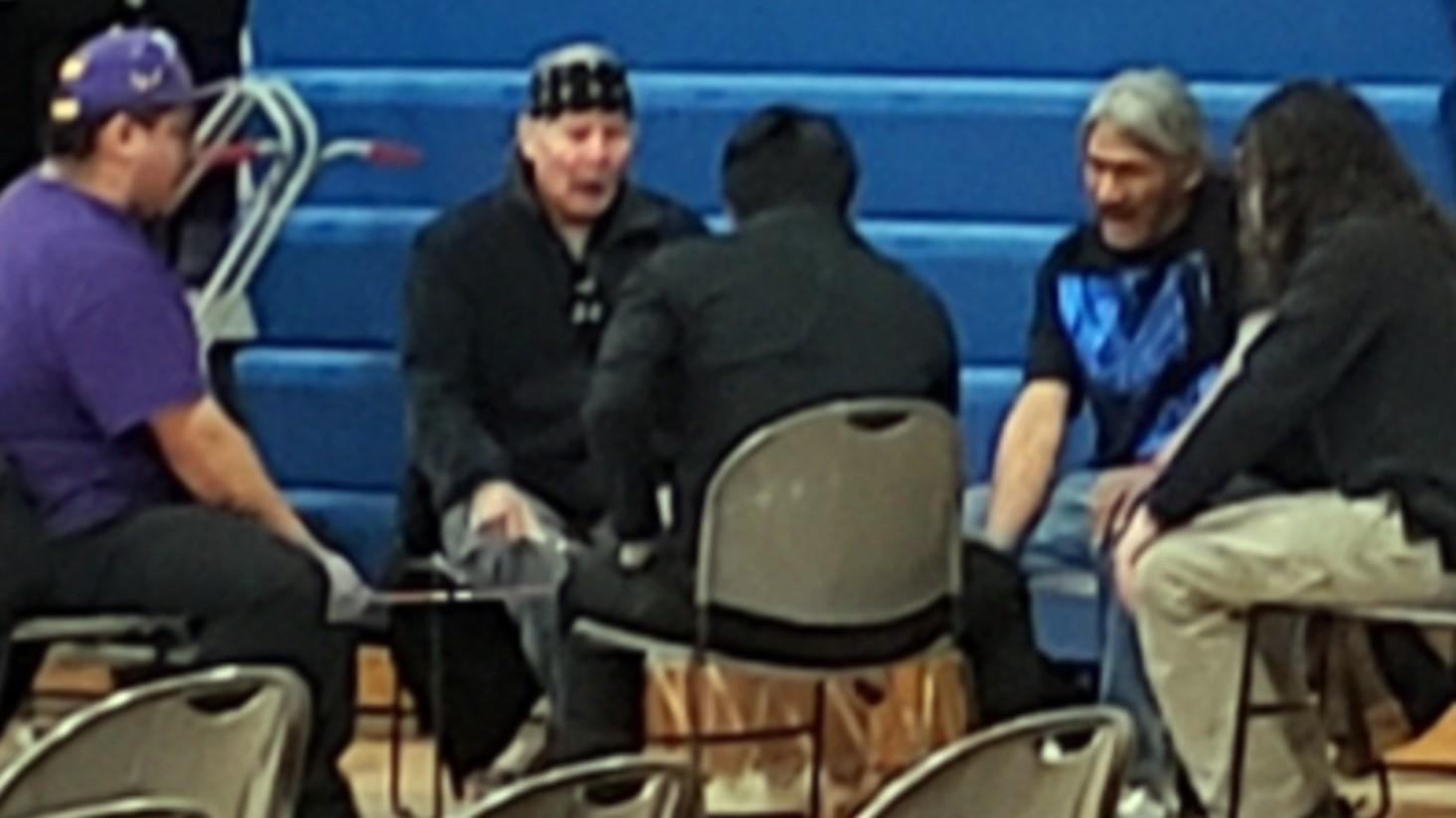 Thank you to Anishanaabe Ogichidaag drumming group for being part of our Veterans Day program.
