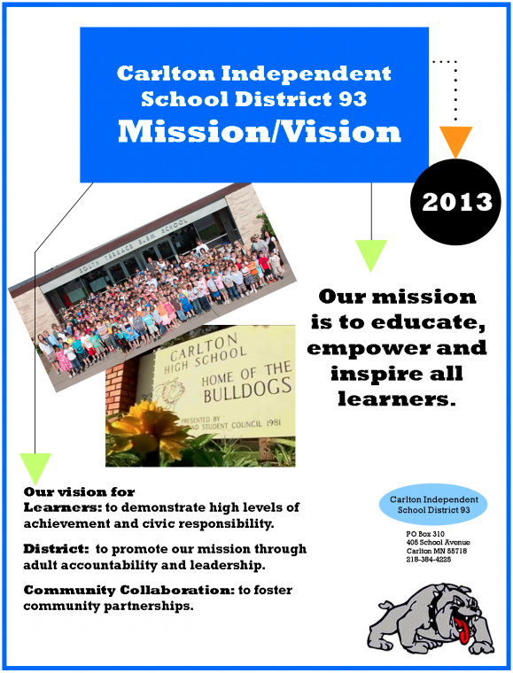 2013 Mission & Vision Developed