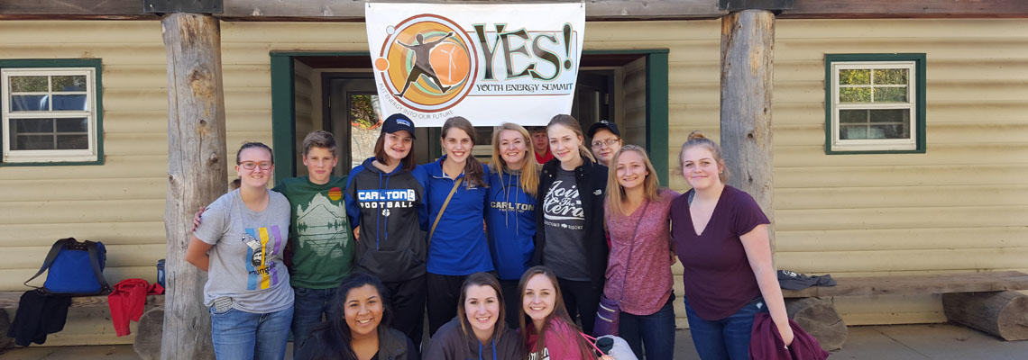 CHS Students Attend YES! Summit