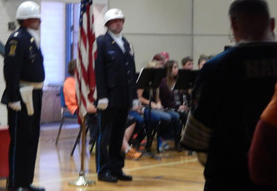 Carlton Public Schools Honors Our Members of the Military During Veterans Day Program