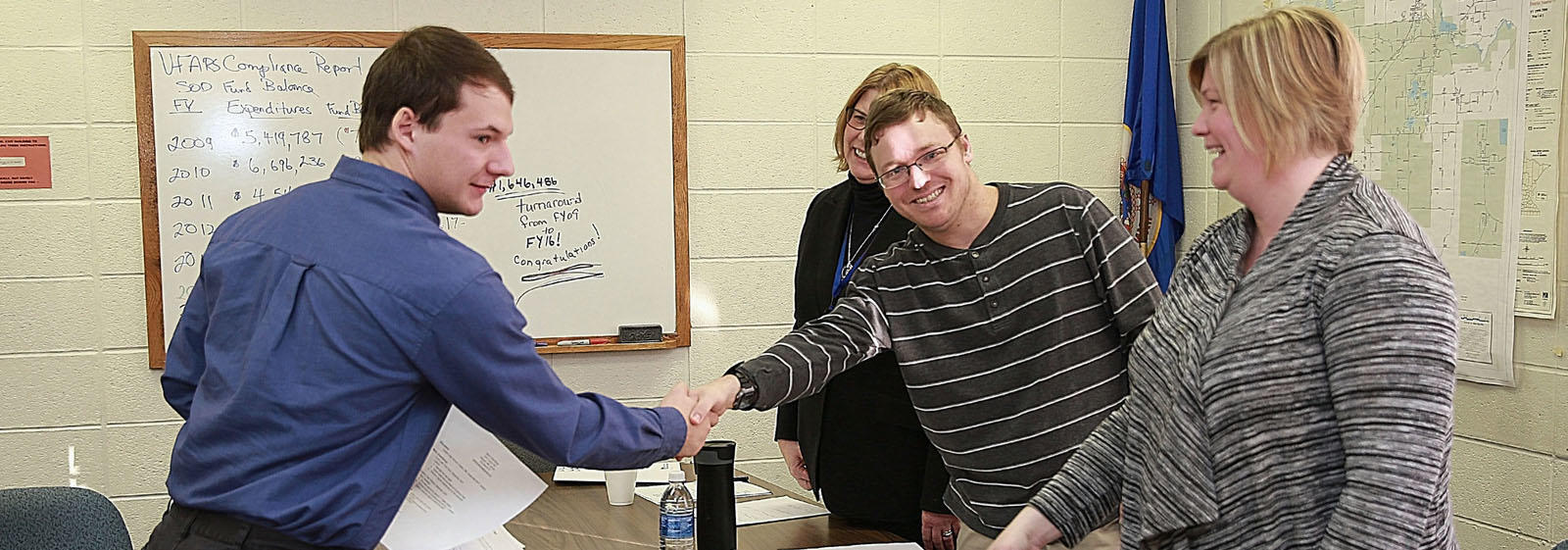 CHS Seniors got to experience the thrill of the job hunt with mock interviews!