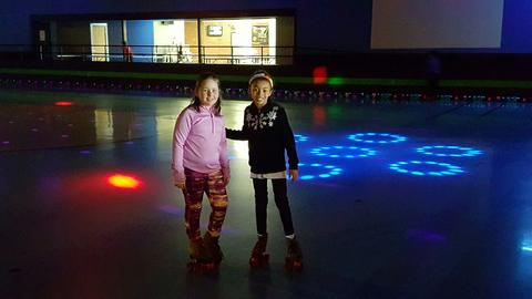 THE TOP SELLERS FOR THE CHIP SHOPPE FUNDRAISER SPENT TIME CELEBRATING AT SKATE CITY TODAY!!