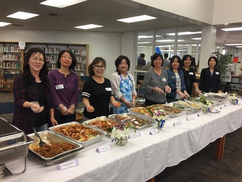 Korean PTA Teacher Appreciation Luncheon
