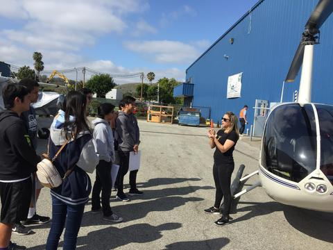 Engineering Student visit to Torrance Airport