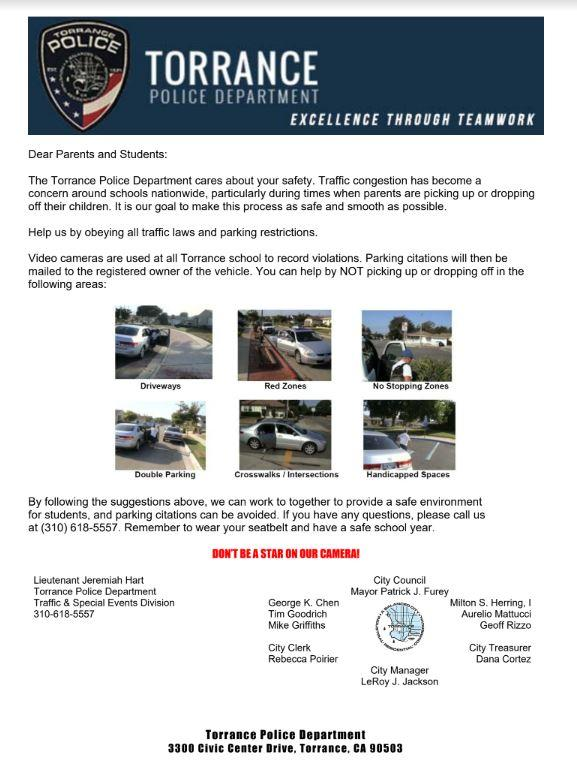 TPD Safety Flyer