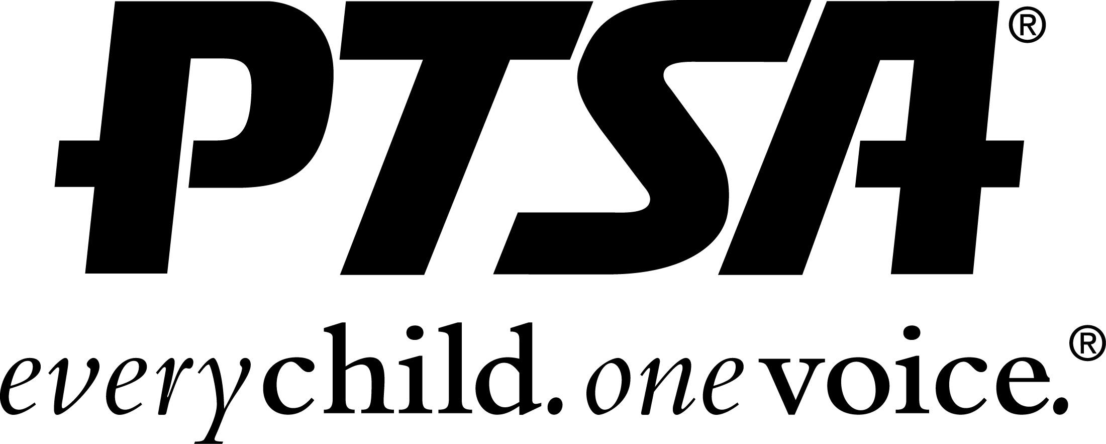 PTSA logo - everychild, one voice