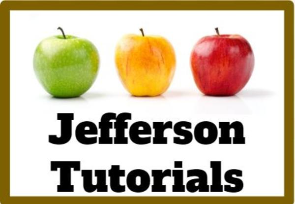 Jefferson Tutorials