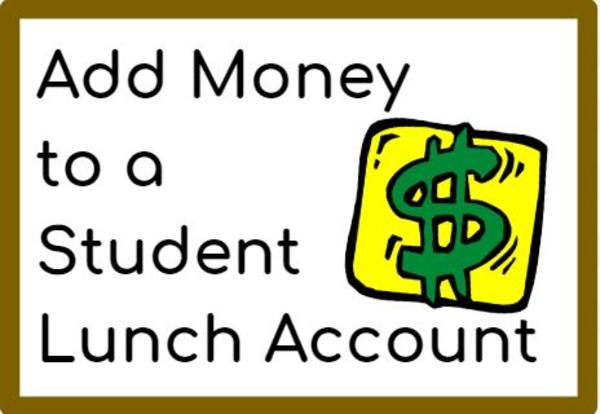 Add Money to a Student Lunch Account