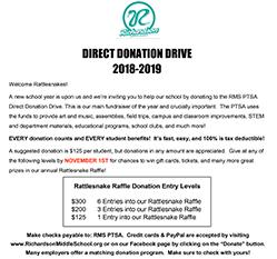 Direct Donation Flyer