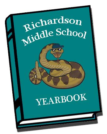 Richardson Middle School Yearbook graphical image