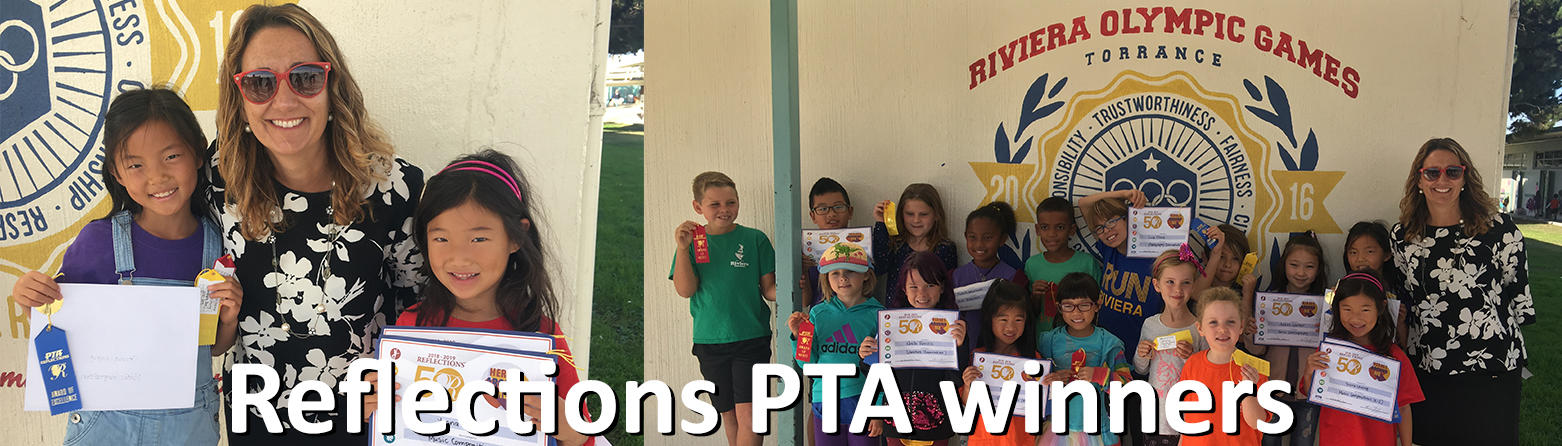 Reflection PTA winners