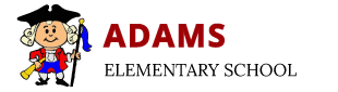 Adams Elementary School - John Adams cartoon logo