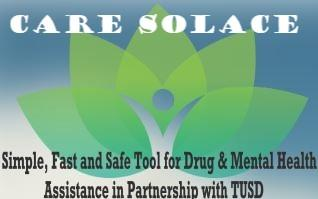 CARE SOLACE LINK: A Simple Fast and Safe Tool for Drug & Mental Health Assistance in Partnership with TUSD