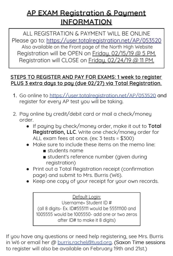 AP Registration