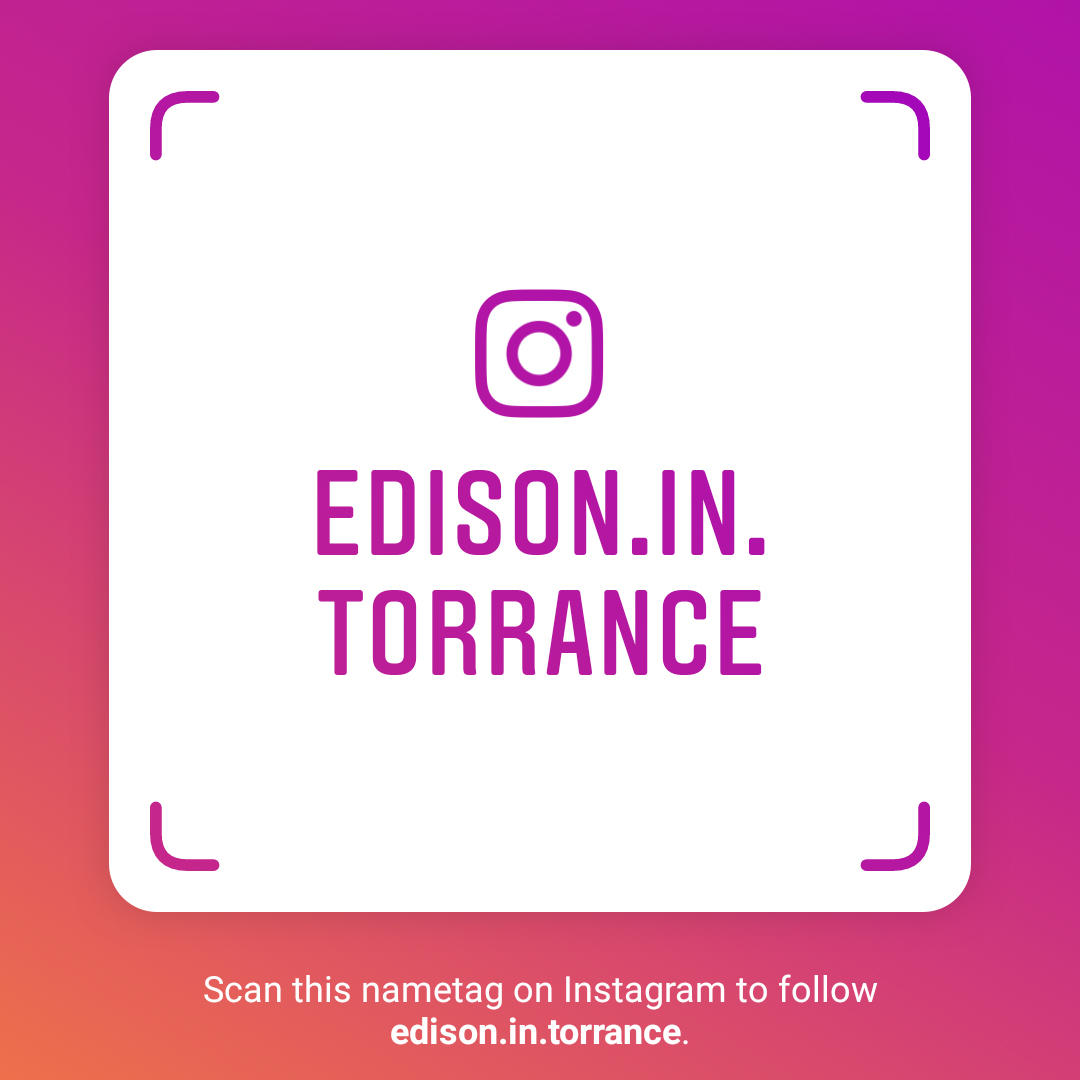 Scan the Instagram Name Tag to Follow us on Instagram