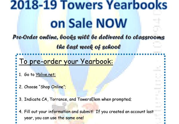 Yearbook are on sale
