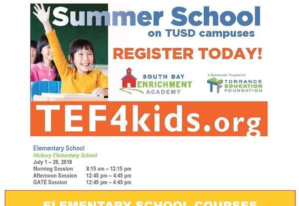 SBEA Summer School, July 1-26