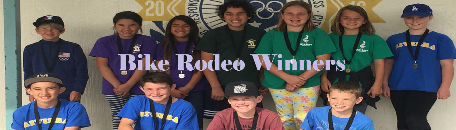 Bike Rodeo Winners