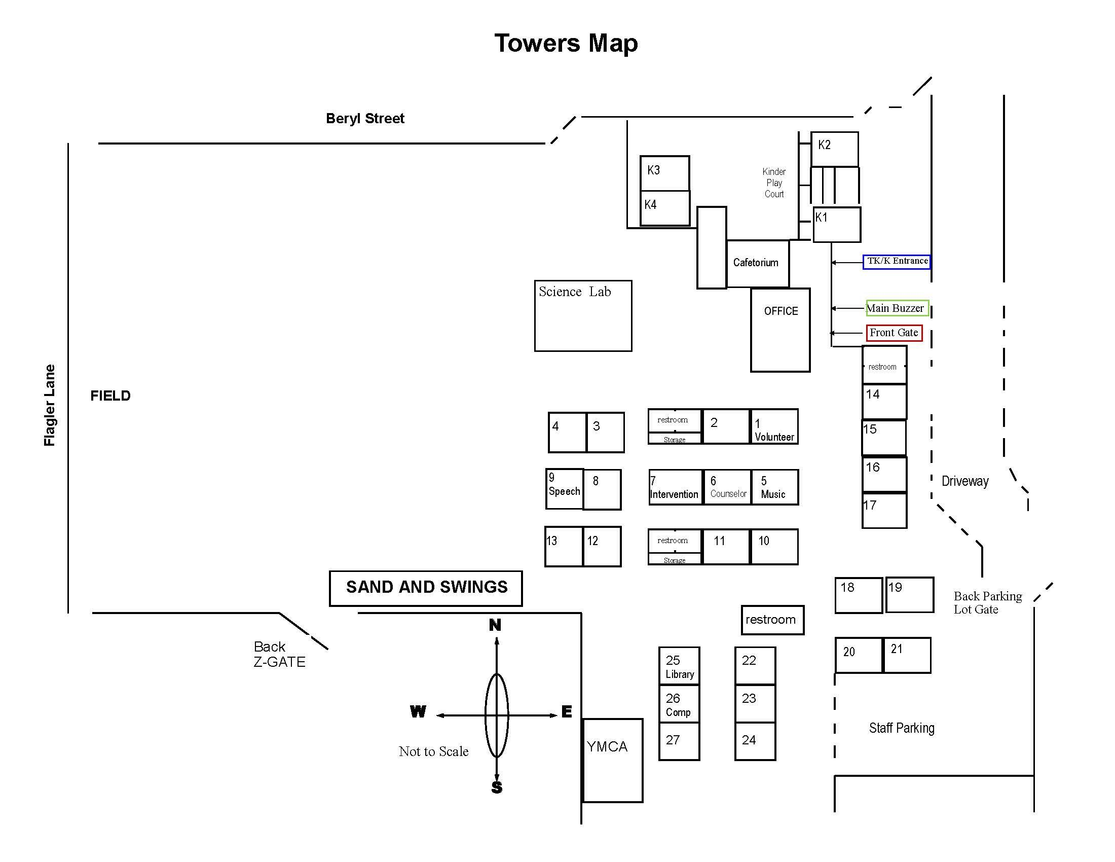 Towers Map