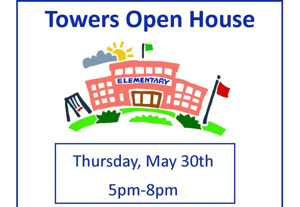 Open House, Thursday May 30, 5-8 pm