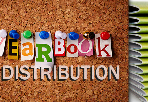 2019 Yearbook Distribution