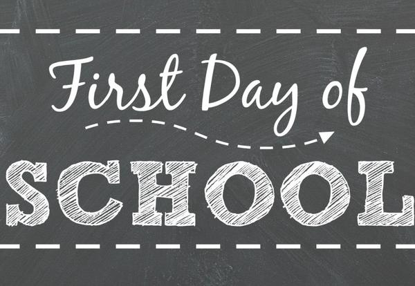 First day of School - August 26, 2019