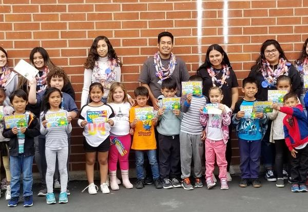 Shery Students with Torrance El Students