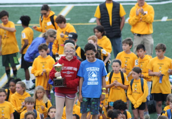 Yukon students receive sportsmanship trophy