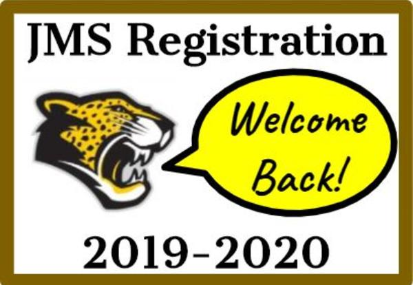 JMS Registration was Wednesday, August 21st
