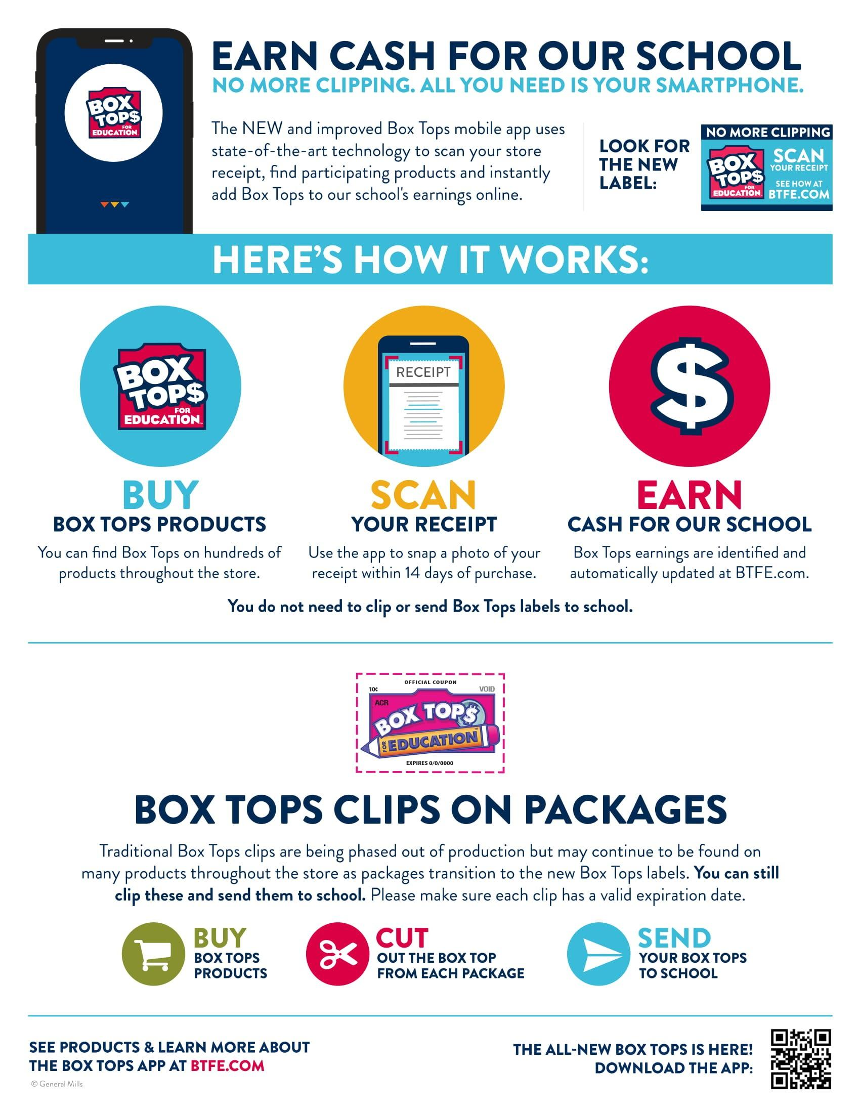 Boxtops Flyer image