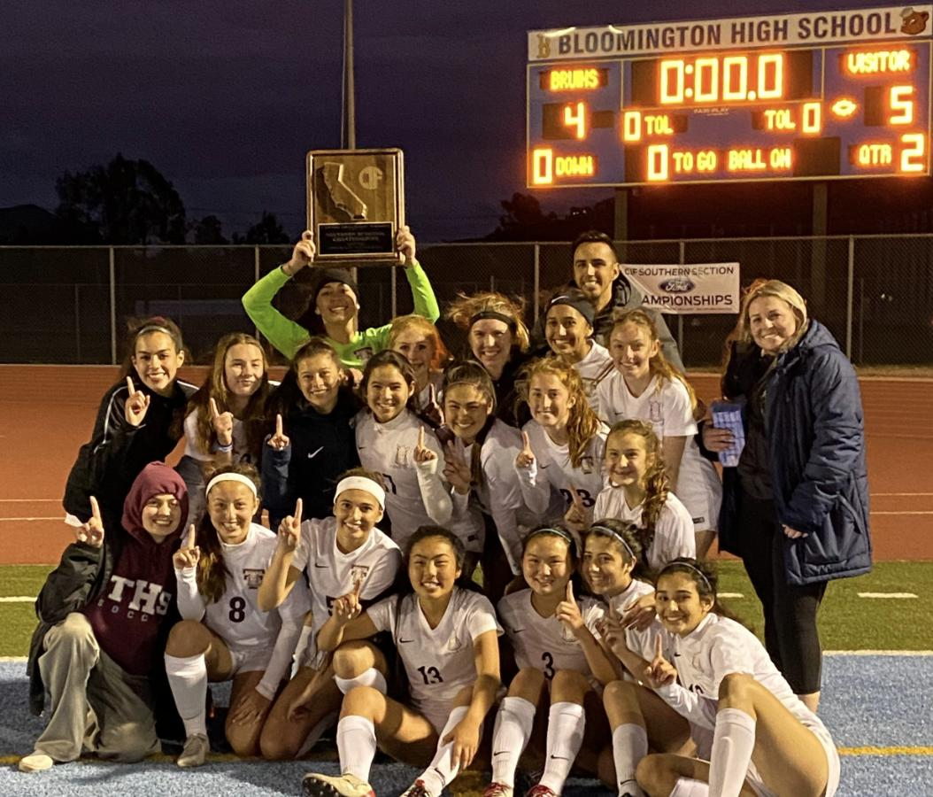 Girls soccer Southern California Regional Championship image