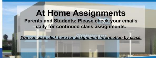 Check your email for daily assignments