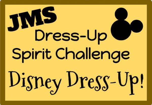 A Stay-At-Home Spirit Challenge: Disney Dress-Up! March 25th - March 27th