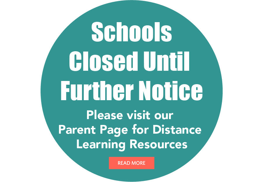 Schools Closed Until Further Notice