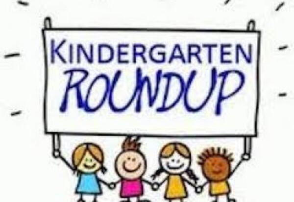 cartoon children holding up Roundup sign