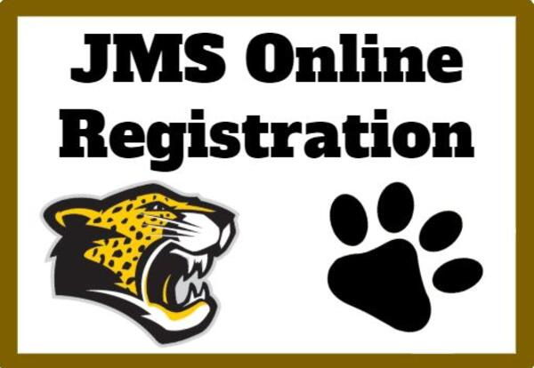 JMS Online Registration is Open NOW through 5/13