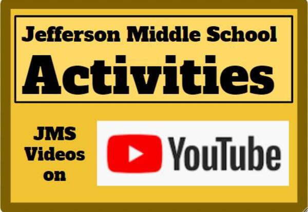"Get ""Happy"" on our Jefferson YouTube Channel: ""JMS Activities"""