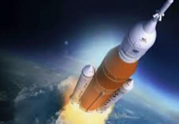 rocket leaving earth