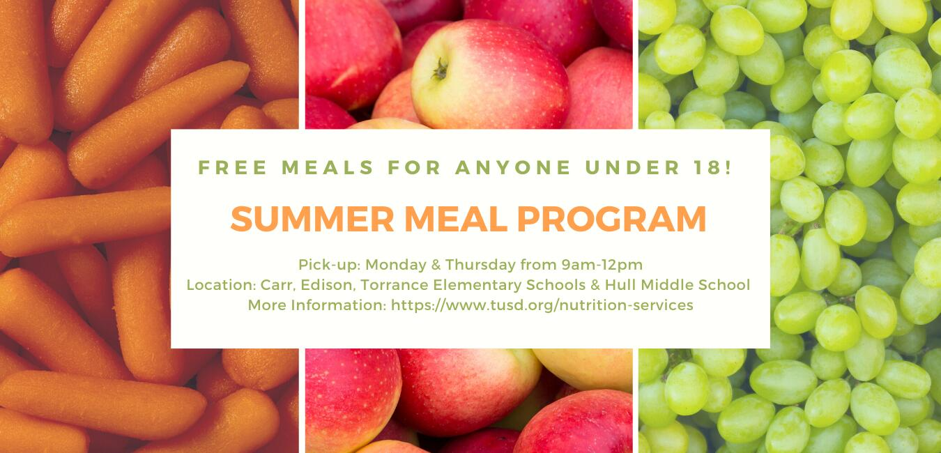 Summer Meal Program - tusd.org/nutrition-services