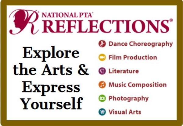 JMS PTSA Reflections: Explore the Arts & Express Yourself