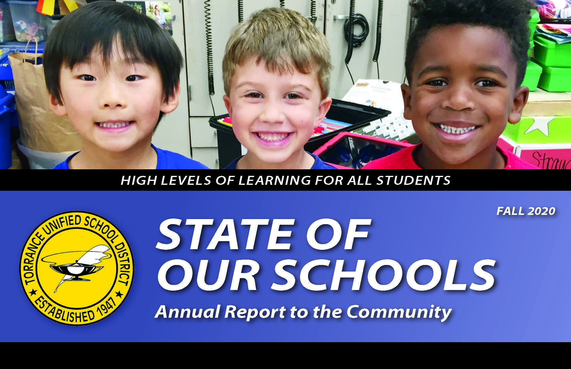 State of Our Schools Annual Report to the Community