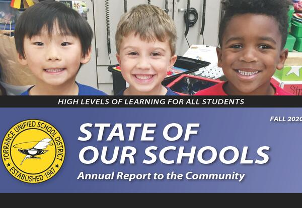 State of Our Schools Annual Report to the Community graphic